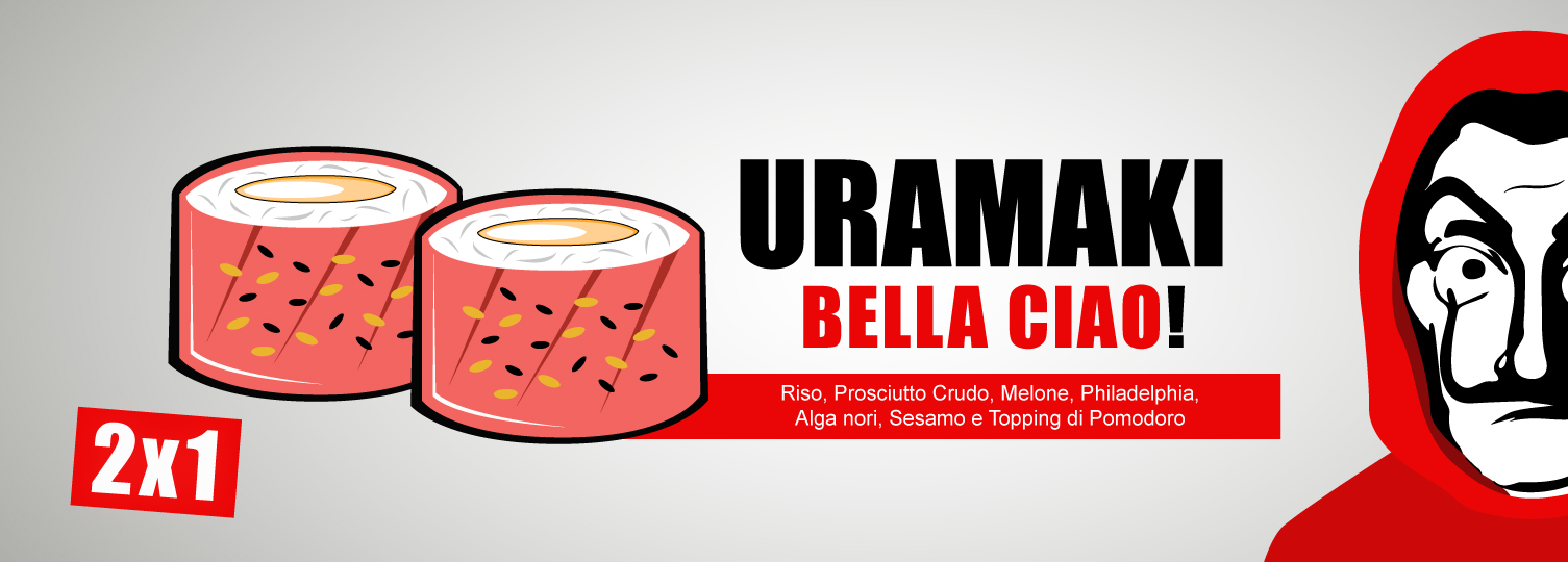 Uramaki Bella Ciao!