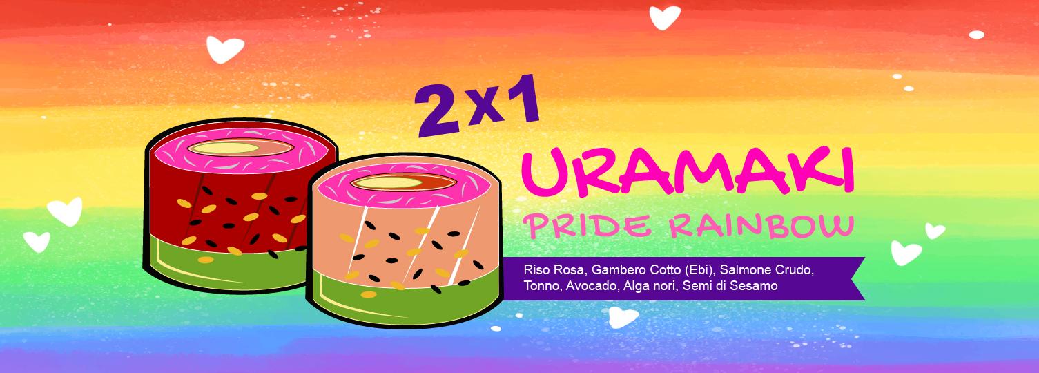 Uramaki Pride Rainbow